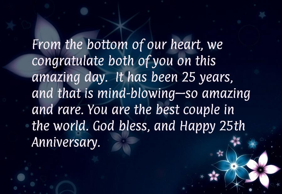 Funny 25th anniversary quotes