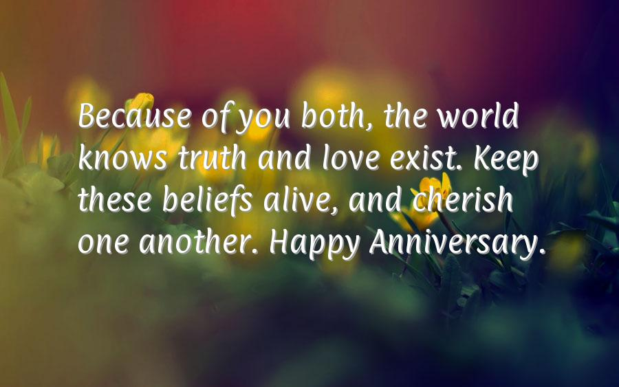 Wedding anniversary sms for friend