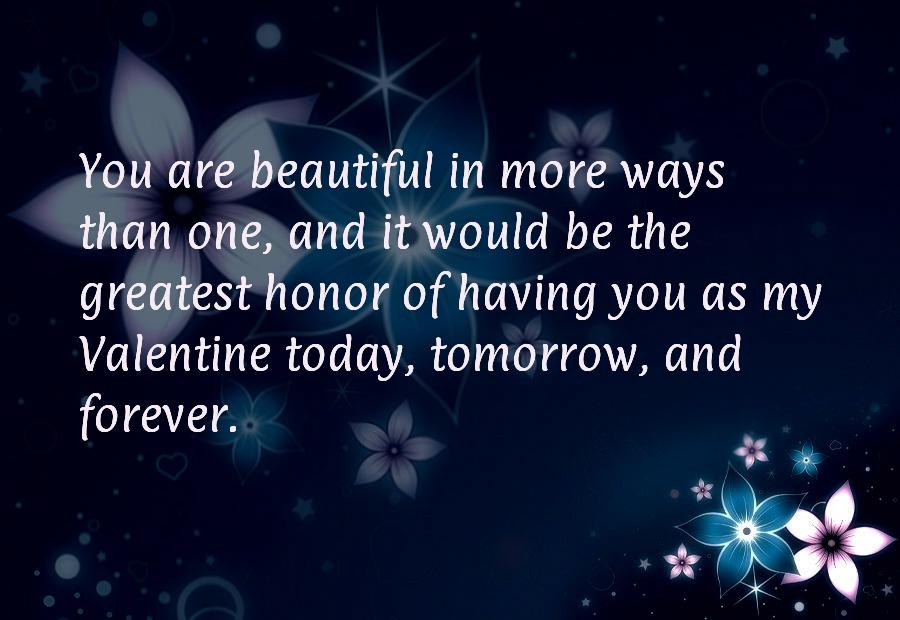 Valentines day sayings