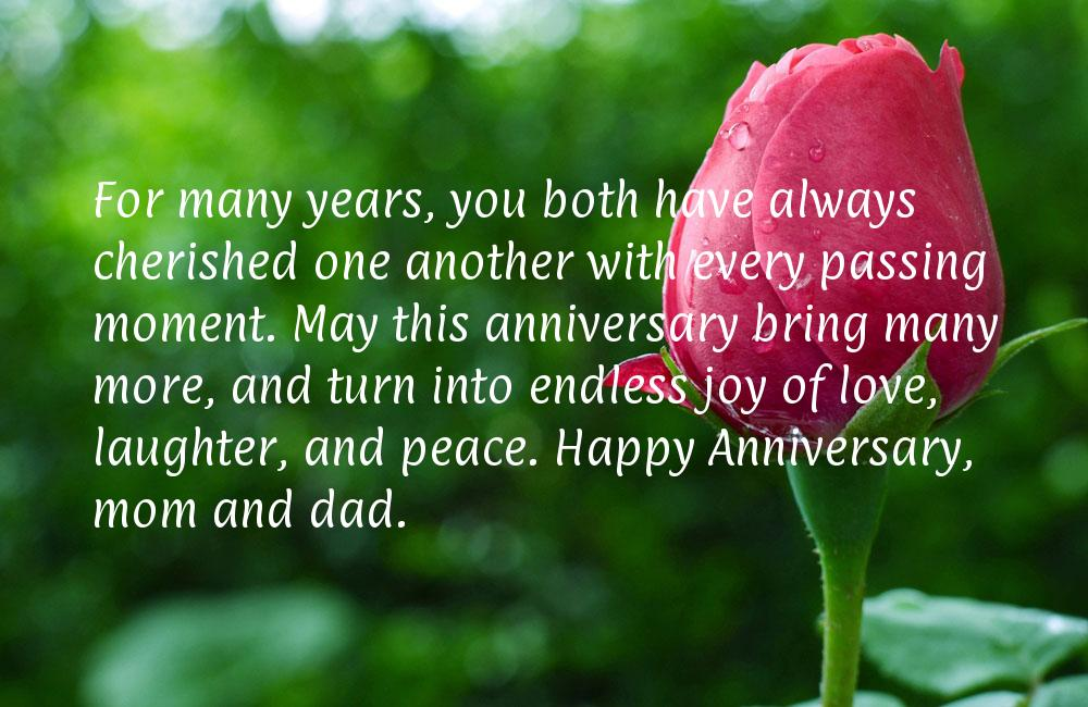 Mom dad anniversary quotes