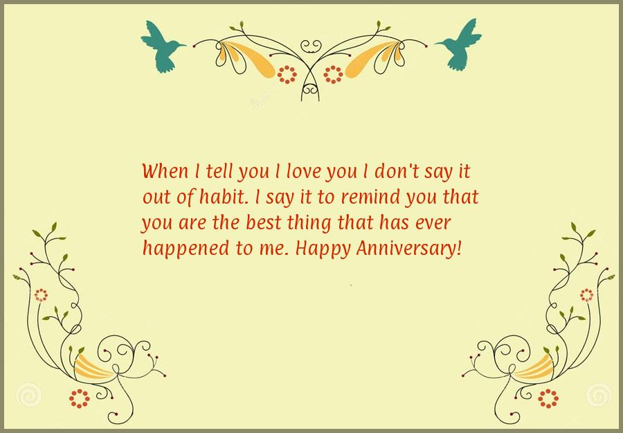 Short anniversary quotes