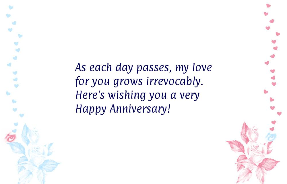 Anniversary messages for husband from wife