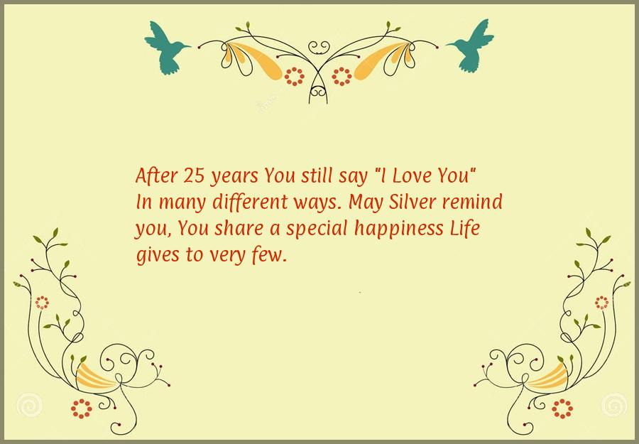 25 year anniversary quotes