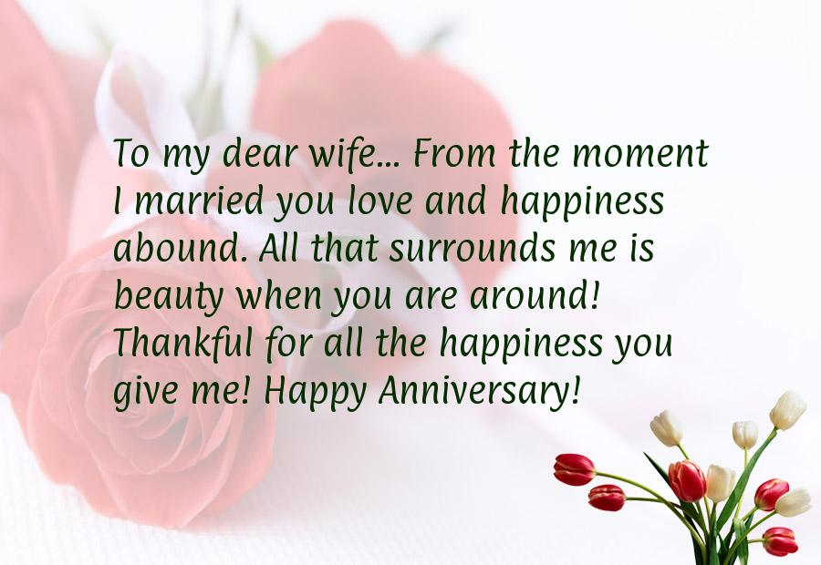 Wife to husband anniversary quotes quotesgram