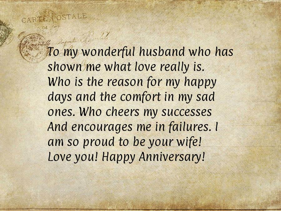 Wedding Anniversary Letter To Wife from anniversaryquotes.net