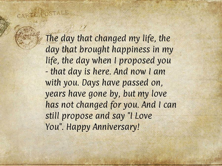 sweet anniversary letter to husband wedding anniversary wishes for my husband 787