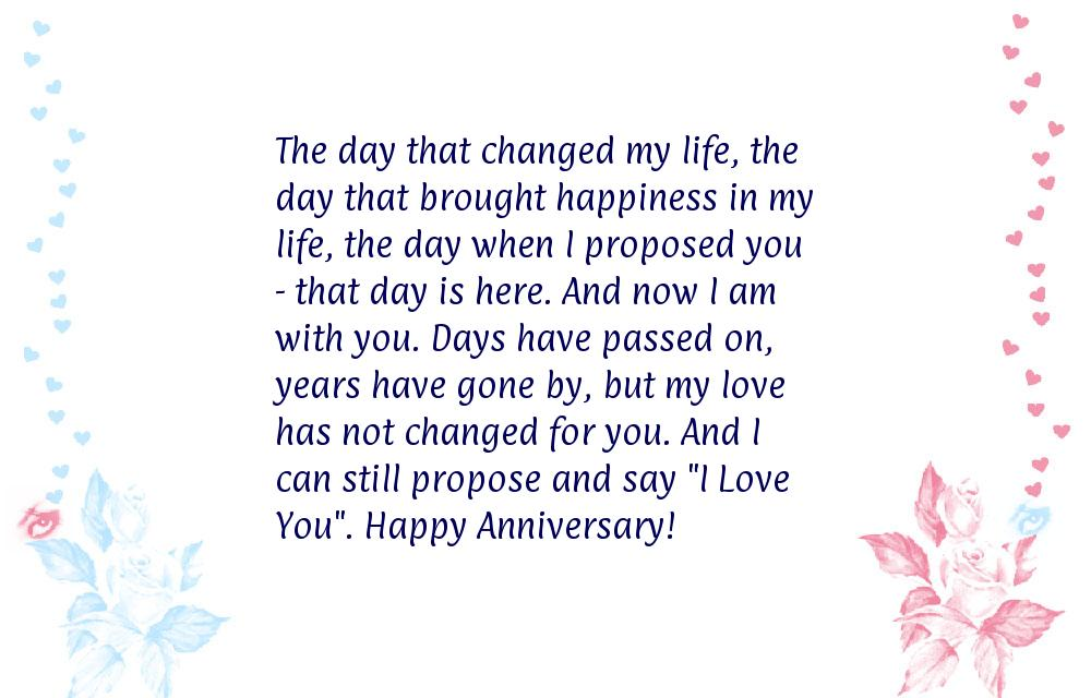 Anniversary message to husband
