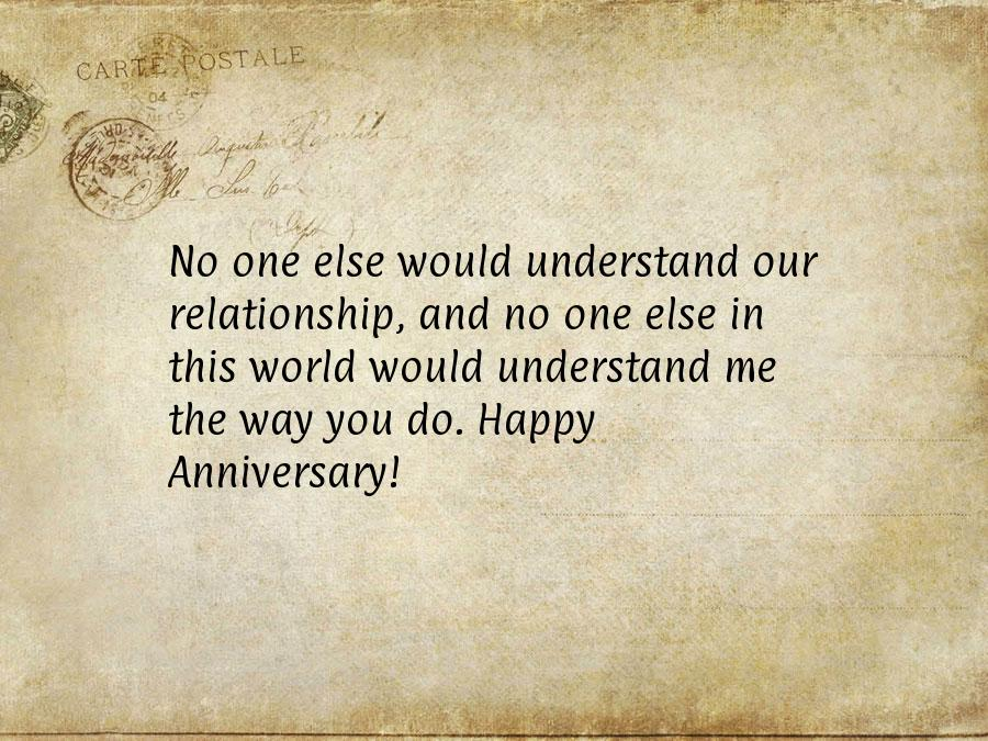 Anniversary messages to my wife