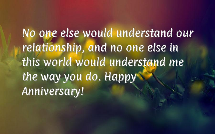 Anniversary wishes for husband from wife