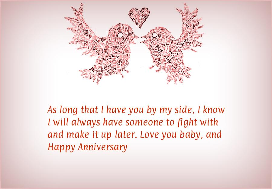 Sms for Anniversary