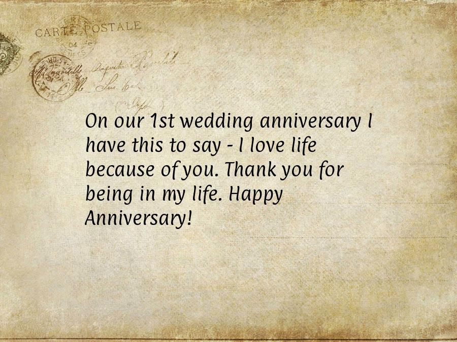 Year Anniversary Love Letter